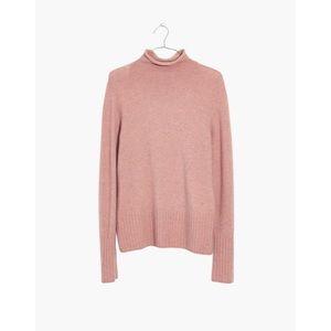 Madewell Inland Turtleneck Sweater in Coziest Yarn